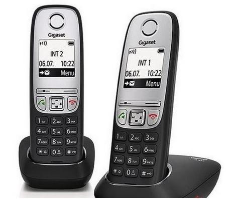 Gigaset Schnurlostelefon A415Duo 2 Mobilteile