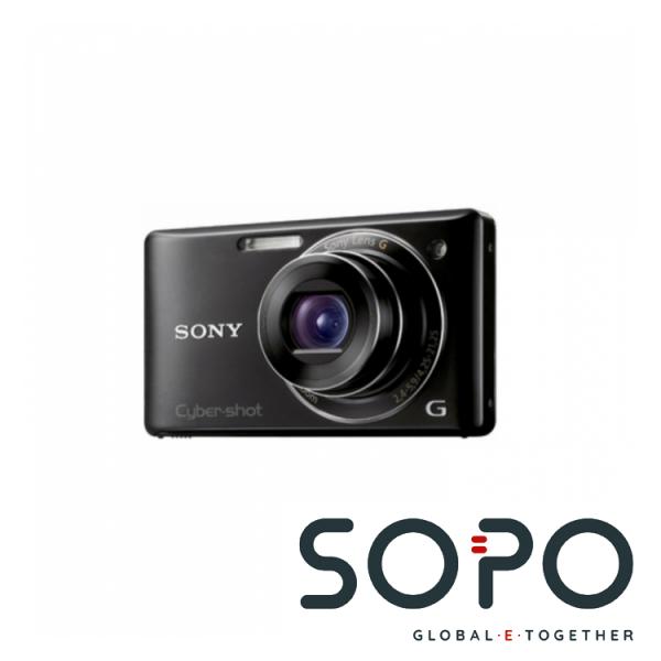 Sony Digitalcameraset DSCW380BKITDI.YA, Akku NPBN1, Stativ, Tasche, 4GB Memorystick