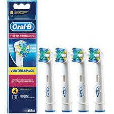 Braun 043102 4Stück(e) Weiß Elektrischer Zahnbürstenkopf